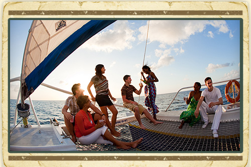 Saint Lucia Sunset Cruise-Evening Party Cruise